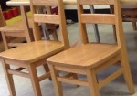 Lakeshore Learning Oak Chairs