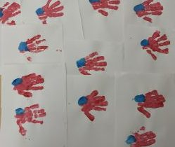 Preschoolers Honor Patriots Day