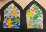 Preschool Stained Glass Windows
